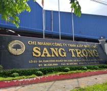 THI CÔNG CÂY CẢNH CHO CÔNG TY XNK GỖ SANG TRỌNG- NHỊ XUÂN, HÓC MÔN, TP.HCM 05/2019